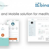 Web and Mobile solution for meditation