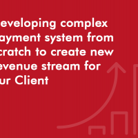 Developing complex payment system from scratch to create new revenue stream for our Client