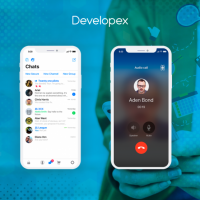 MESSENGER WITH VOICE AND VIDEO CALLS