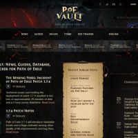 POE Vault - Path of Exile News, Guides, Database, and Tracker - PoE Vault