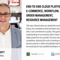 End-to-end Cloud Platform: E-commerce, Workflow, Order Management, Resource Management