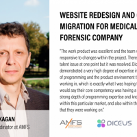 Website Redesign and CMS Migration for Medical Forensic Company