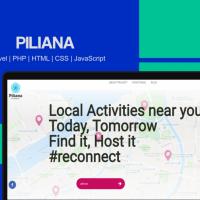Piliana - Social Web platform | PHP | Laravel | HTML/CSS/Javascritp