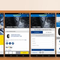 Mobile App Development for Goodyear