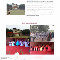 Website designed for School