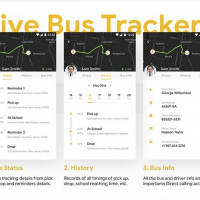 School Bus Tracking App