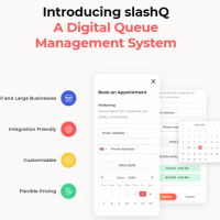SlashQ: A Digital Queue Management System