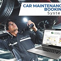 Car maintenance booking system