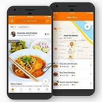 TopTravelFoods - Food Recommendations App
