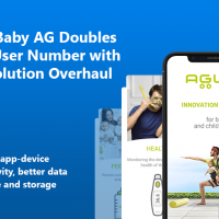 AGU Baby AG Doubles App User Number with IoT Solution Overhaul