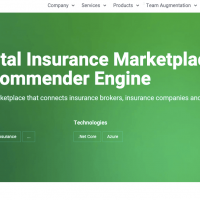 Digital Insurance Marketplace with Recommender Engine