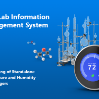 SaaS Lab Information Management System: Engineering of Standalone Temperature and Humidity Data Loggers