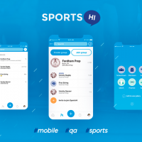 SportsHi - the React Native mobile application