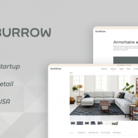 Burrow - an online marketplace for Y Combinator seeded startup
