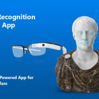 Face Recognition Demo App for Google Glass