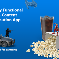 A Media Content Distribution App: Prototype for Samsung