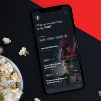 Movies Database App Concept