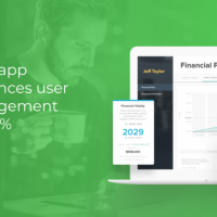 Self-help guru's financial planner app that works in conjunction with live event