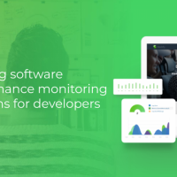 Building software performance monitoring solutions for developers