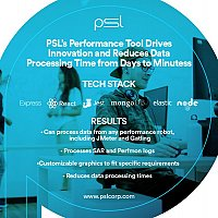PSL's Performance Tool Drives Innovation and Reduces Data Processing Time from Days to Minutes