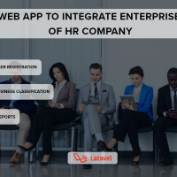 Web App to Integrate Enterprise Clients of Human Resource Company