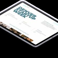 Denver Startup Week Website