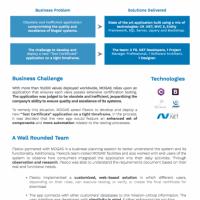 Valves Manufacturer Digital transformation