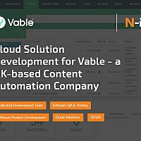 Cloud Solution Development for Vable - a UK-based Content Automation Company