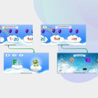 E -Learning application Kids