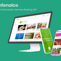 Recreation Services booking app