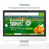 Custom Wordpress Development for Taco Time