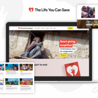 Website Redesign for The Life You Can Save