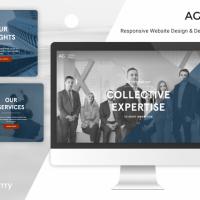 Custom Marketing Website for AG Consulting Partners