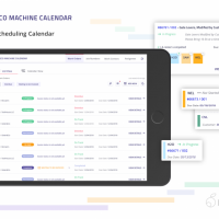 Manufacturing Scheduling Software for Pasco Machine