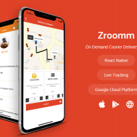 Zroomm - On Demand Courier Delivery App