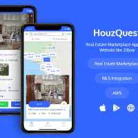 HouzQuest - Real Estate Marketplace Mobile & Web App like Zillow