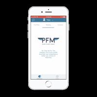 PFM On-demand pilots app