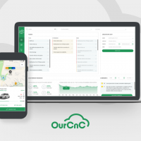 Car rental application (OurCNC)
