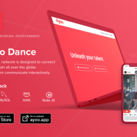 Global social network for dancers