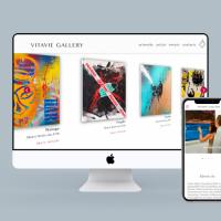 New branding&Website Development for ArtGallery