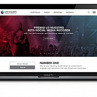 Univision Web & Mobile UI/UX