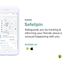 Safeguards you by tracking & informing your friends about any unusual happening with you.