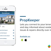 Lets you connect to your tenants and stay informed about residential issues & repairs directly over mobile.