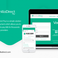 VanillaDirect Pay - Pay your bills or load funds with cash