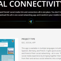SOCIAL CONNECTIVITY APP