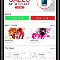 Mobile App Development for Enzi - Wallet App
